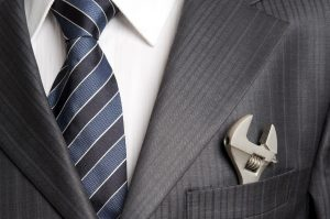 suit with tool