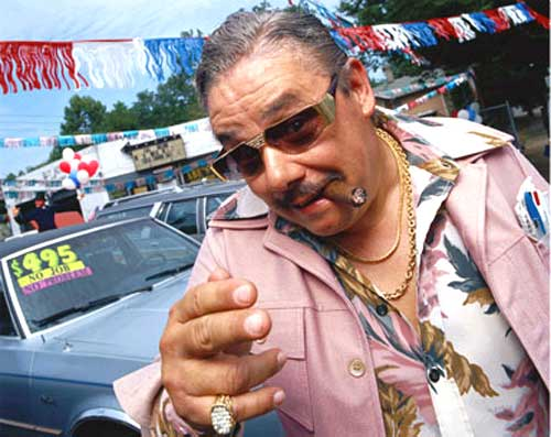 Are You A Used Car Salesman?