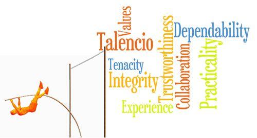 Talencio Values