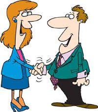 Networking Cartoon