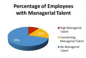 Percent of Employees with Managerial Talent