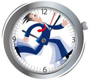 Running on a clock